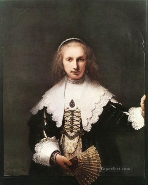 Agatha Bas portrait Rembrandt Oil Paintings