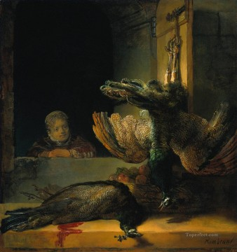 Dead peacocks Rembrandt Oil Paintings