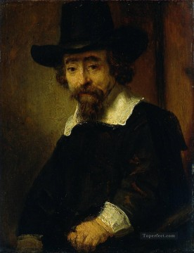 Dr Ephraim Bueno Jewish Physician and Writer portrait Rembrandt Oil Paintings