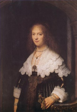 Maria Trip portrait Rembrandt Oil Paintings