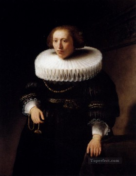 Rembrandt van Rijn Painting - Portrait Of A Woman Rembrandt