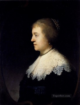Portrait Of Amalia Van Solms Rembrandt Oil Paintings