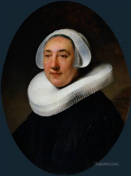 Portrait of Haesje van Cleyburgh Rembrandt Oil Paintings
