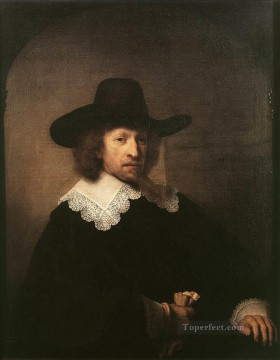 Portrait of Nicolaas van Bambeeck Rembrandt Oil Paintings