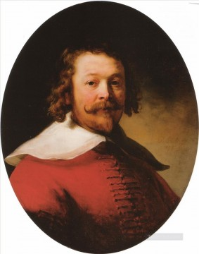 Portrait of a bearded man Rembrandt Oil Paintings