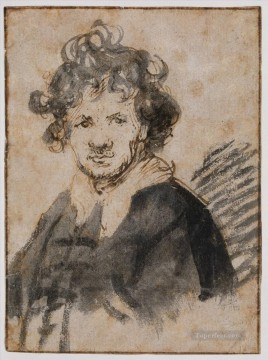 Self Painting - Self Portrait 16289 Rembrandt