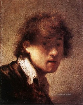 Self Portrait 1629 Rembrandt Oil Paintings