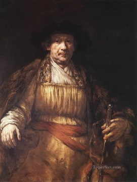 Self Painting - Self Portrait 1658 Rembrandt
