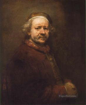 Self Painting - Self Portrait 1669 Rembrandt