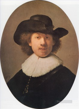 Self portrait 1632 Rembrandt Oil Paintings