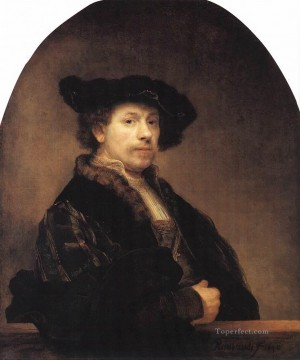 Self portrait 1640 Rembrandt Oil Paintings