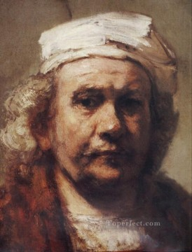 Self Painting - Self portrait Det Rembrandt