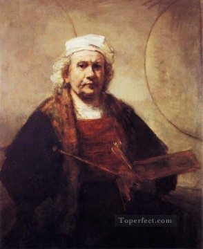 Self Painting - Self portrait Rembrandt