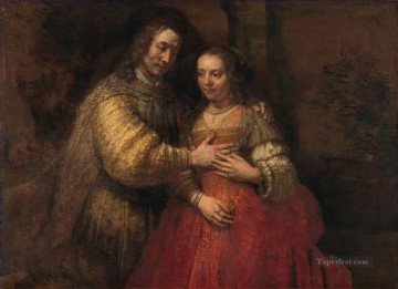 The Jewish Bride Rembrandt Oil Paintings