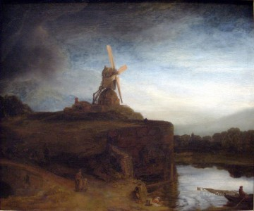 The Mill Rembrandt Oil Paintings