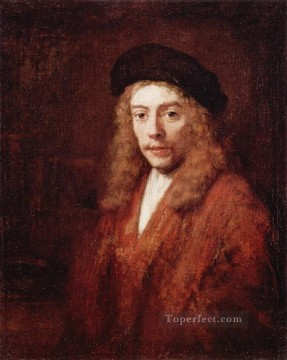 YngMn portrait Rembrandt Oil Paintings