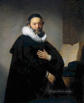 Johannes portrait Rembrandt Oil Paintings