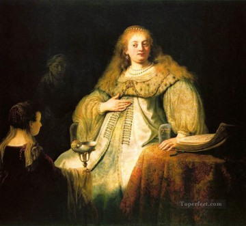 Artemisia Rembrandt Oil Paintings