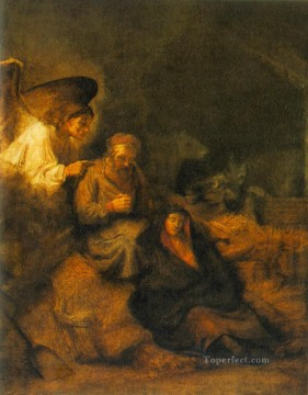 Dream Painting - The Dream of St Joseph Rembrandt