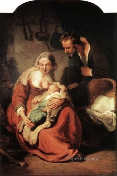 The Holy Family Rembrandt Oil Paintings