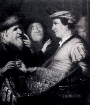 The Sense Of Sight Rembrandt Oil Paintings