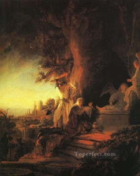 The Risen Christ Appearing to Mary Magdalen Rembrandt Oil Paintings