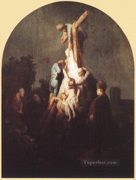Rembrandt van Rijn Painting - Deposition from the Cross Rembrandt