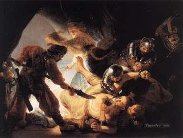 Rembrandt van Rijn Painting - The Blinding of Samson Rembrandt