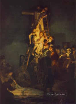 cross - Descent from the Cross Rembrandt