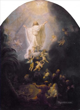 Rembrandt van Rijn Painting - The Ascension Of Christ Rembrandt