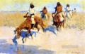 Pool in the Desert Old American West Frederic Remington