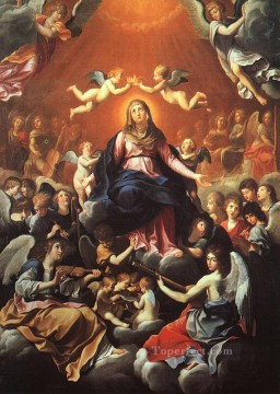 Reni Canvas - The Coronation of the Virgin Baroque Guido Reni