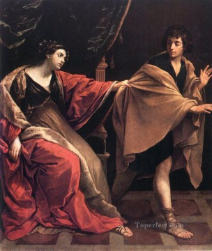 Baroque Canvas - Joseph and Potiphars Wife Baroque Guido Reni