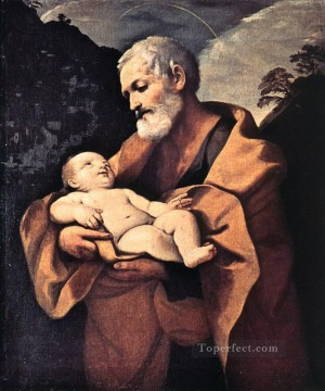 St Joseph Baroque Guido Reni Oil Paintings