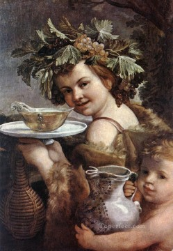The Boy Bacchus Baroque Guido Reni Oil Paintings