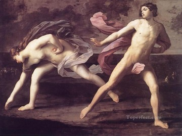 Atalanta and Hippomenes Baroque Guido Reni Oil Paintings