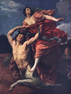 Rape Art - The Rape of Dejanira Baroque Guido Reni