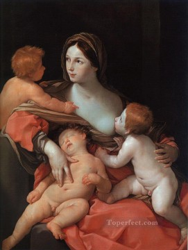 Charity Baroque Guido Reni Oil Paintings