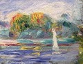 the blue river Pierre Auguste Renoir