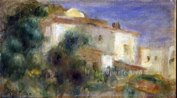 maison de la poste cagnes Pierre Auguste Renoir Oil Paintings