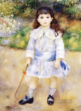 Child With A Whip master Pierre Auguste Renoir Oil Paintings