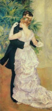 Pierre Auguste Renoir Painting - Dance in the City master Pierre Auguste Renoir