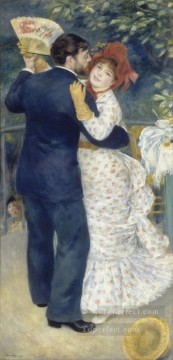 Dance in the Country master Pierre Auguste Renoir Oil Paintings