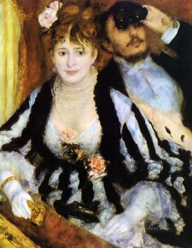 La Loge master Pierre Auguste Renoir Oil Paintings