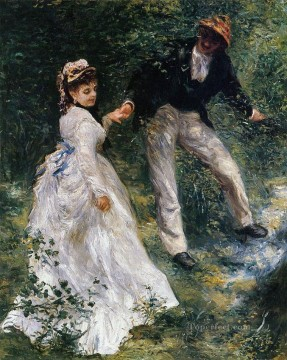 La Promenade master Pierre Auguste Renoir Oil Paintings