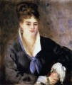 Woman In Black master Pierre Auguste Renoir