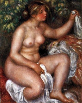 apres le bain Pierre Auguste Renoir Oil Paintings