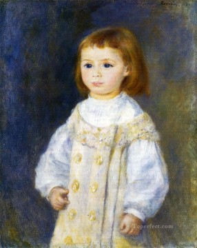 child in white Pierre Auguste Renoir Oil Paintings