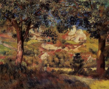 lanscape in la roche guyon Pierre Auguste Renoir Oil Paintings