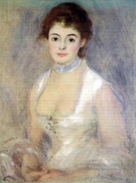 madame henriot Pierre Auguste Renoir Oil Paintings